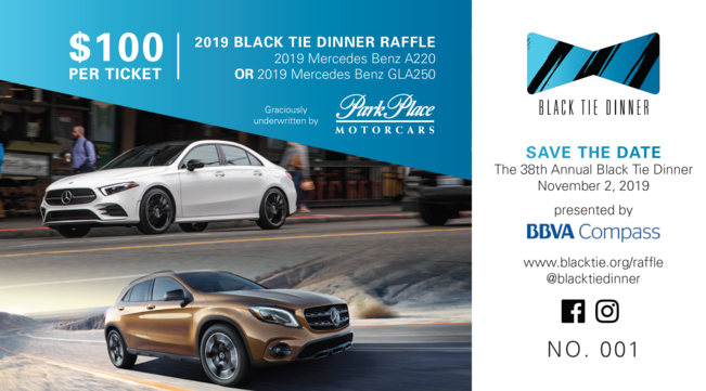 Black Tie Dinner | Raffle